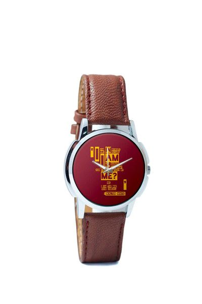 Wrist Watches India | I Am The Danger Walter White Quote Breaking Bad Wrist Watch Online India.