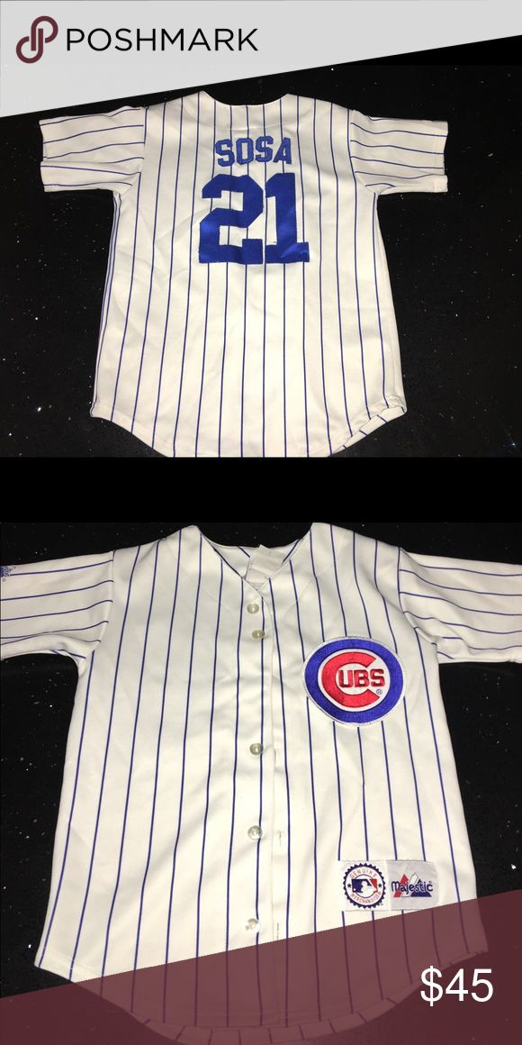 Chicago Cubs Sammy Sosa Jersey Chicago Cubs Sammy Sosa Jersey. Great Vintage Condition! Tops Tees - Short Sleeve
