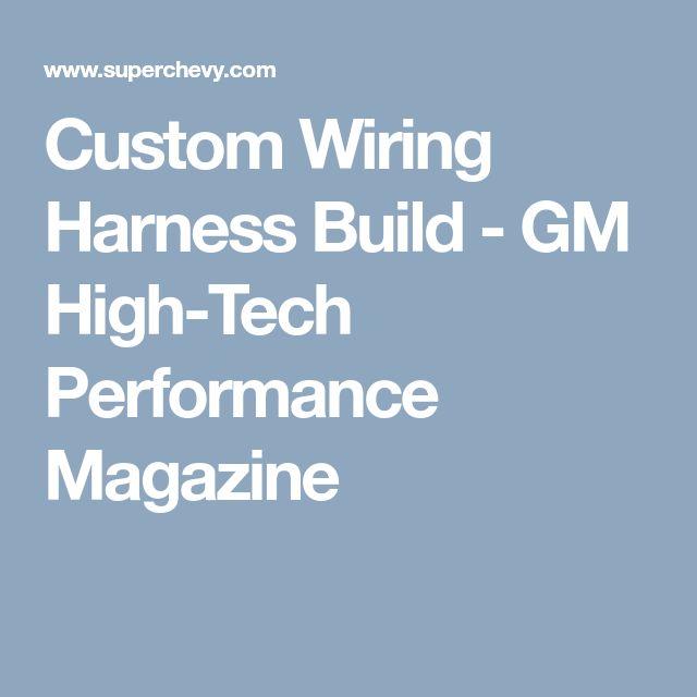 7 best Ls harness tips images on Pinterest | Engine, Motor engine ...