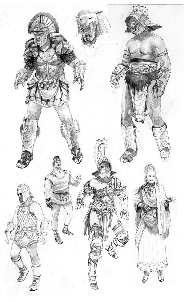 Best Character Design Artist : Best images about concept gladiator on pinterest