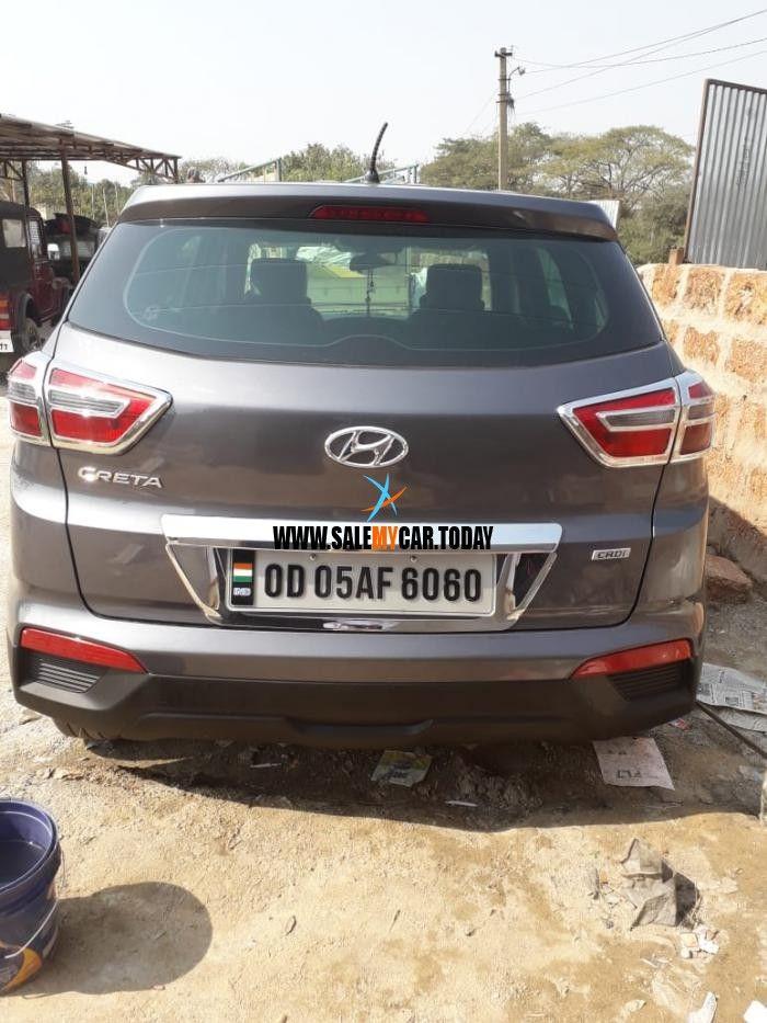 Salemycar Today Used Hyundai Creta For Sale In Bhubaneswar At
