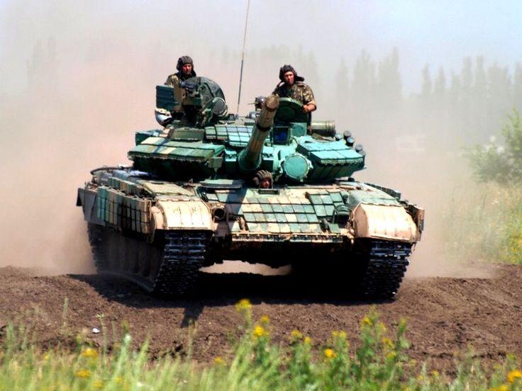 T-64BV in Ukrainian service