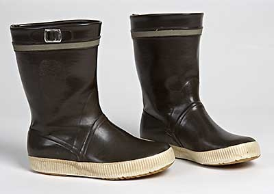 """The """"Hai"""" rubber boots, back in fashion. Finland."""