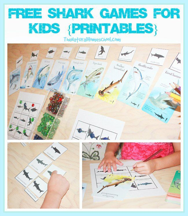 Share this post!Welcome to our free shark games for kids with some awesome printables! I tried hard to resemble the different kinds of sharks to put together a great and fun set. In this post, you will see four different ways to use your shark printable set. You will love these games and your children …