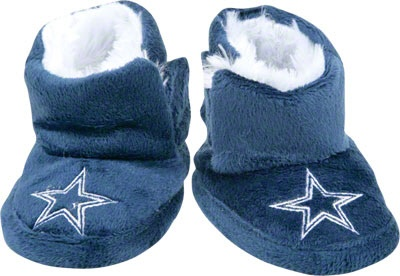 Dallas Cowboys Baby Slipper Boot. For my husband!