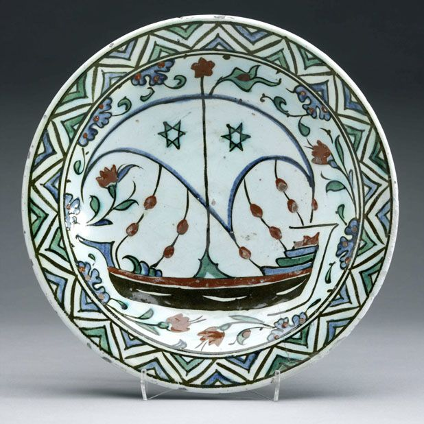 c. 1600 Ottoman period Area of Origin: Iznik, Turkey