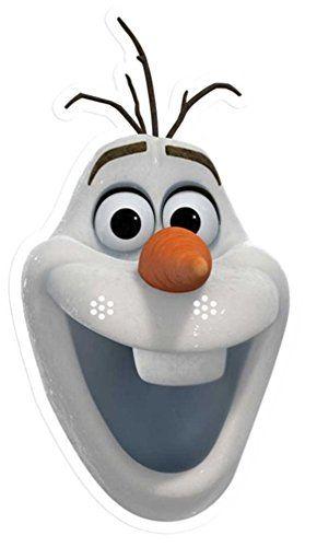 Marvelous Olaf The Snowman Face Template Invitation Templates Funny Birthday Cards Online Ioscodamsfinfo
