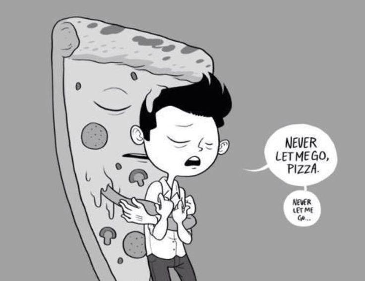 Looooooove you pizza !