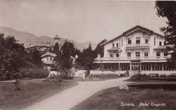 Sinaia - Hotel Ungarth - interbelica