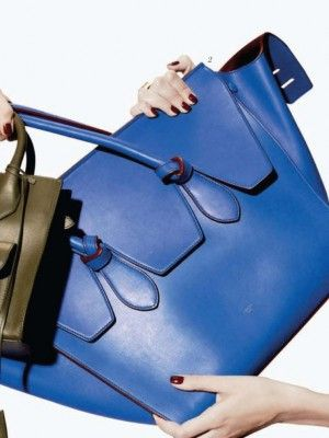 celine blue bag