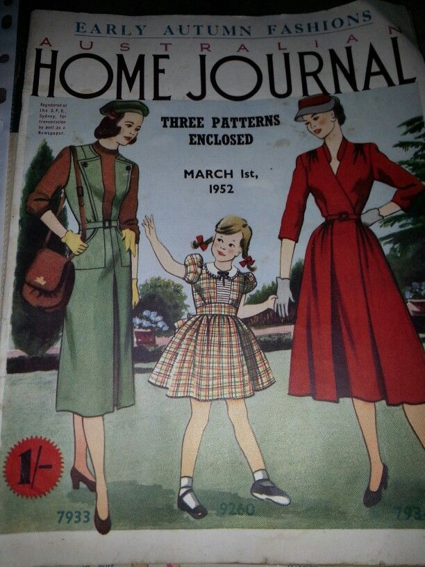 Australian home journal March 1952 cover