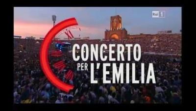 Concerto per l'Emilia: Frizzi, la Rai e la solidarietà (25 giugno 2012)