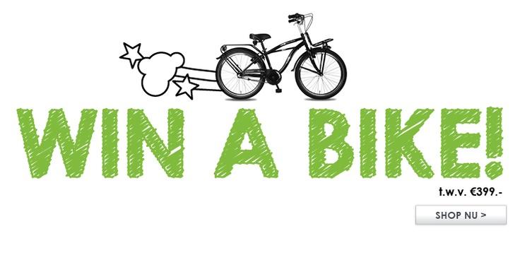 Jeans Centre Win a Bike actie! Kijk op onze website voor de voorwaaden www.JC.nl