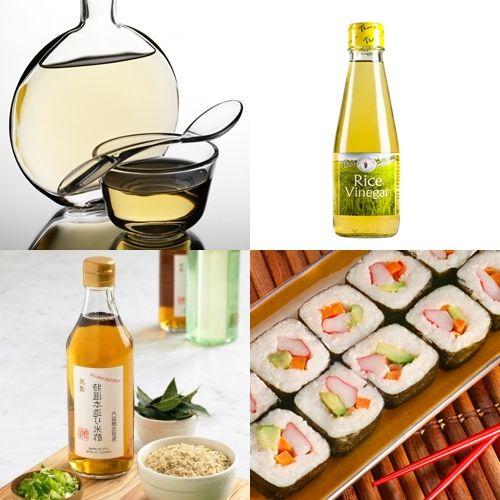 SOUND: http://www.ruspeach.com/en/news/13271/     Родиной рисового уксуса является Япония, однако сегодня он популярен во многих странах, включая Россию. Рисовый уксус производится из особых сортов клейкого риса и бывает красным, чёрным и белым. Белый уксус имеет самый нежный вкус. Этот уксус используется при приготовлении суши, рисовой лапши и морепродуктов. Рисовый уксус богат аминокислотами, кальцием, калием и фосфором.     The homeland of rice vinegar is Japan, however to