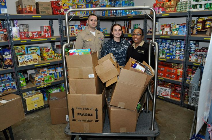 Thank you to our friends at Naval Support Activity Mid-South Navy Recruiting Command for their generous pantry donation.