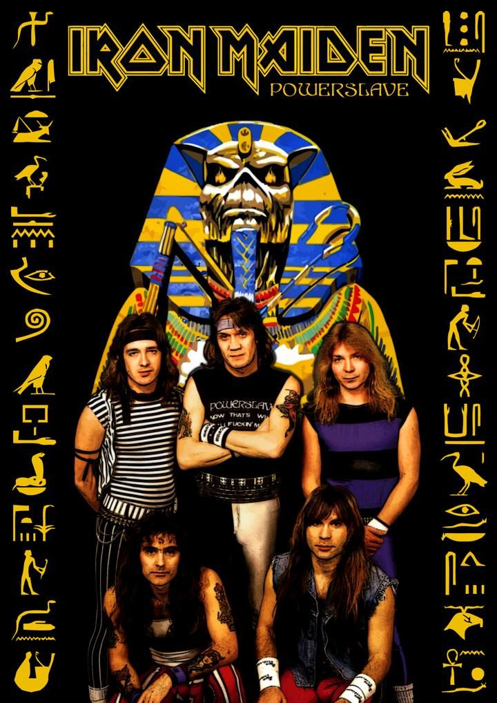 Iron Maiden -Powerslave by Crusader Art.