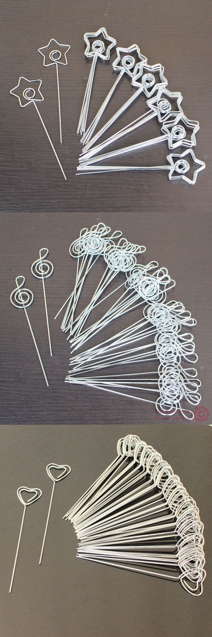 Hacer formas con alambre.