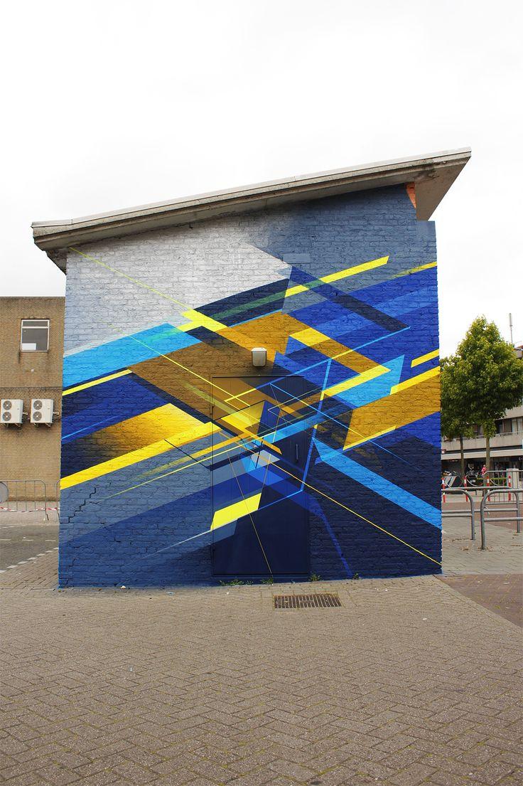Graffiti art design - Satone And Nawer Mural In Eindhoven Street Graffitigraffiti Artstreet Artpublic Artdesign