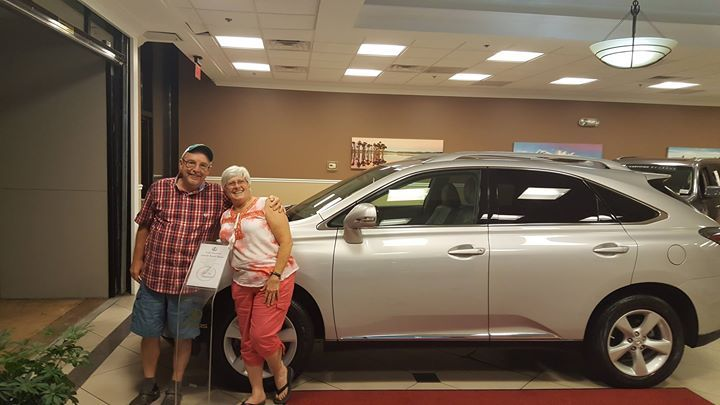 We also congratulate and thank Janet & Ronald B. on the purchase of their 2012 #Lexus #RX350 with our Team Member Karen. We wish you many safe and happy miles! #FieldsMattersBecauseYouMatter  #newlexus #lexusdrivers #newcustomer #fieldsauto #lexusorangepark #lexuscars #lexusRX350 #luxurycars #automotive #Lexus