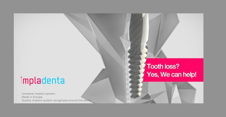 Universal dental implants system. Made in Europe