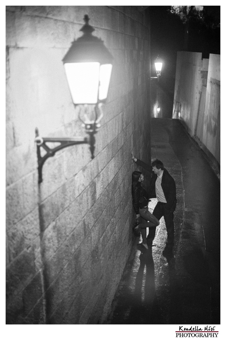 Budapest night engagement love session photography