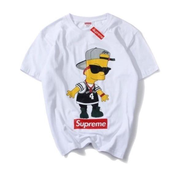 SUPREME Bart Simpson Brooklyn Shirt  d1eed4bdd615