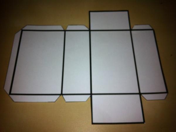 Cómo hacer un prisma con base rectangular - 6 pasos