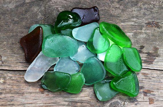 Medium good quality sea glass Bulk Sea glass Sea glass for sale Ecofriendly Art Supplies Medium Sea glass for Crafting Beach Decor supplies