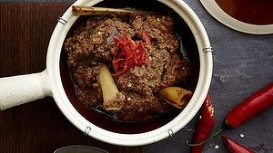 Patience is the key to a good beef rendang.