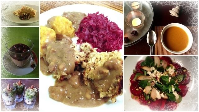 Deutschland is(s)t vegan feiert vegane Weihnachten und/oder Silvester und läd dich zu einem exklusiven Menü ein. Verwöhne deine Liebsten mit unserem Dinner - die Rezepte sind für 6 Personen ausgele...