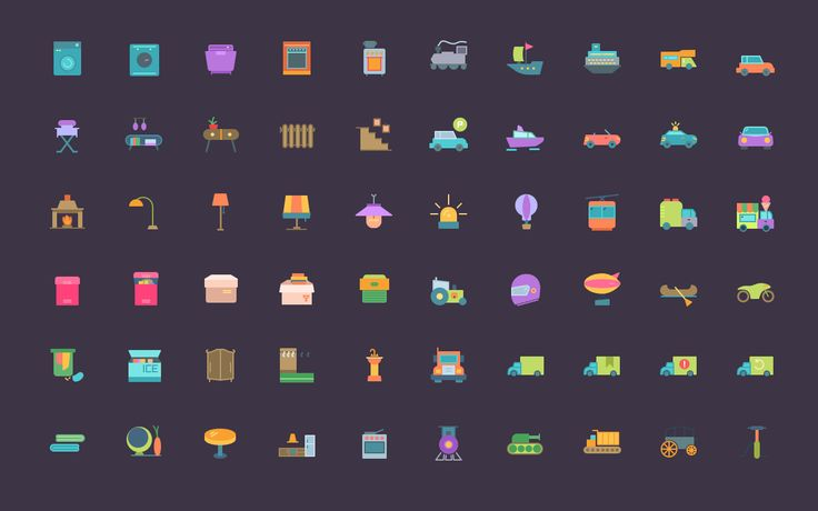 A completely free icon set that's fully customizable. Save time designing your next project with these vector icons.