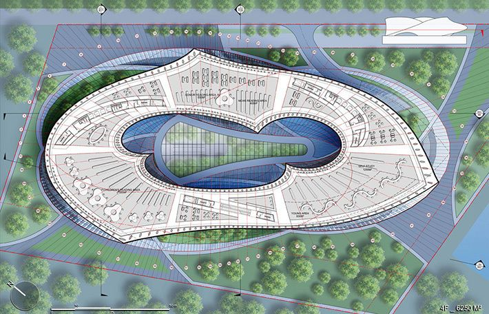 На Тайване могут построить культурный центр в форме ленты Мёбиуса | Коммерческая недвижимость Беларуси. Abu.by-«AБ ГРУПП», продажа, покупка, аренда, развитие и управление недвижимостью. Инвестирование, проектирование, строительство.