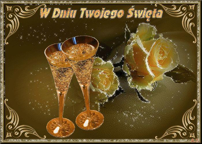 imieniny-róże-szampan-w-dniu-twojego-święta.gif (700×500)