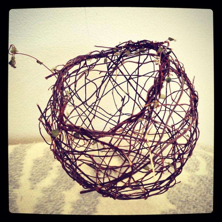 Basket #2- using the random weaving technique!