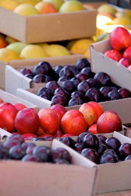 #organic #fruit #plums #nectarine #gooseberry