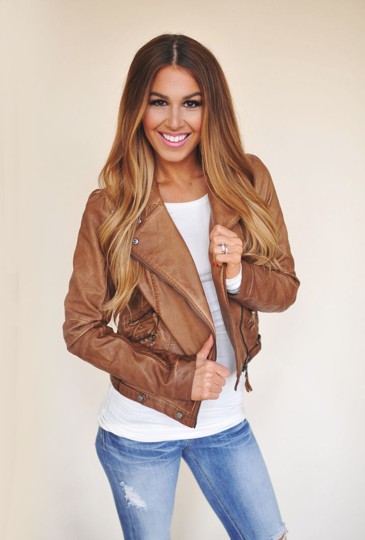 Dottie Couture Boutique - Camel Leatherette Jacket, $69.00 (http://www.dottiecouture.com/camel-leatherette-jacket/)  LOVE!!!! #FallStitchFixHarvest