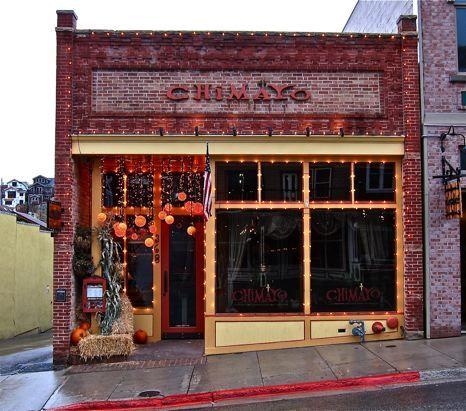 Chimayo.  My favorite restaurant in Park City, Utah.