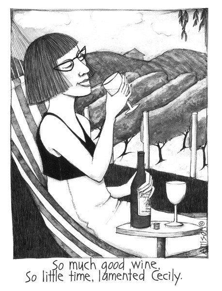 Good wine card - so true!