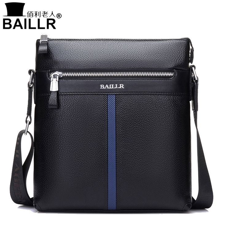 32.61$  Watch now - BAILLR Brand Genuine Leather High Quality Business Men's Bag Messenger Bags Men Leather Crossbody Shoulder Bag Men Travel Bags   #magazineonlinebeautiful
