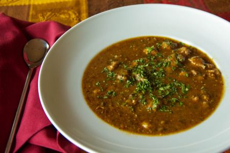Chile Verde for a chilly day.     #chileverde #tomatillos