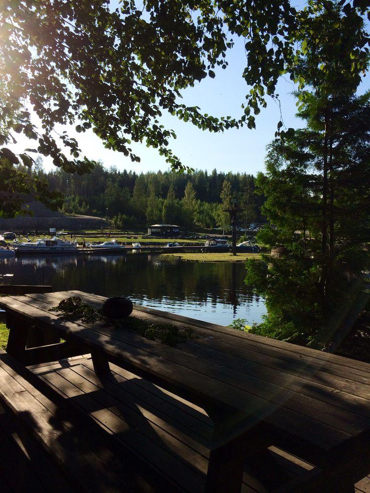 Järvisydän: holiday resort, Rantasalmi Finland