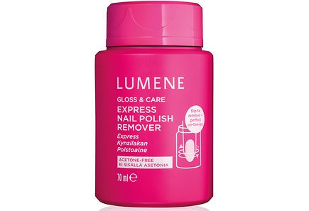 Lumene - Lumene Gloss & Care Express Nail Polish Remover 70 ml