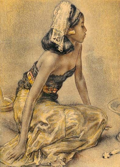 Willem Gerard Hofker - Gadis Bali