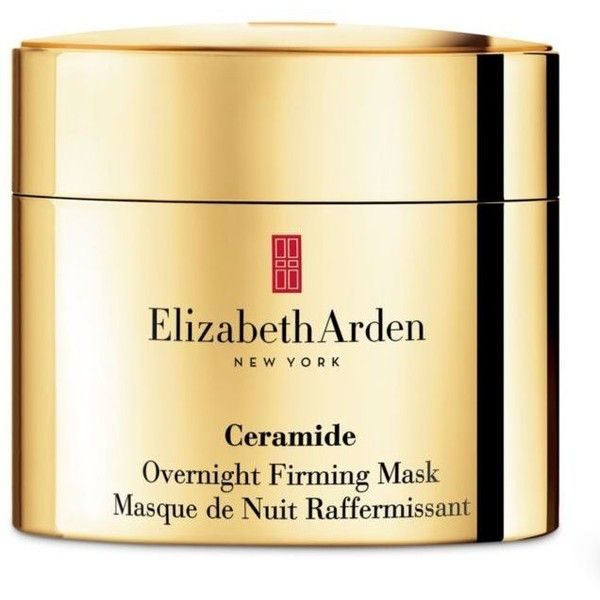 Elizabeth Arden  Ceramide Overnight Firming Mask ($88) ❤ liked on Polyvore featuring beauty products, skincare, face care, face masks, facial mask, moisturizing mask, hydrating face mask, face mask and elizabeth arden face mask