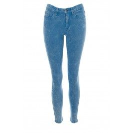 Gwen Blue Acid Wash Denim Skinny Ankle Grazers BUY IT NOW ONLY £17 AT www.fuchia.co.uk