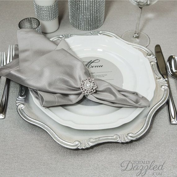 Best 25 Wedding napkin rings ideas on Pinterest Napkin holders