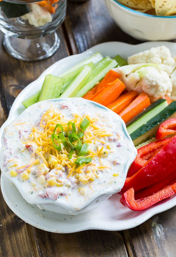 Skinny Fiesta Ranch Dip | Fiestas, Fiesta Ranch Dip and Greek Yogurt