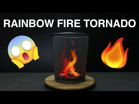 Legjobb ötlet A Pinteresten A Következővel Kapcsolatban Fire - This slow motion fire tornado is the coolest thing youll see all day
