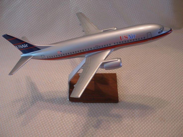 US AIR Airlines Model Desktop Executive Plane  I think 787