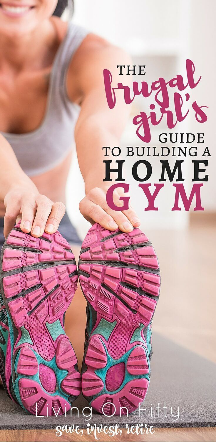 Create a frugal home gym on the cheap (and any budget) with these insider tricks for how to buy cheap home gym equipment - great ideas! - Living on Fifty http://www.retiredby40blog.com/2016/07/18/how-to-buy-cheap-home-gym-equipment/